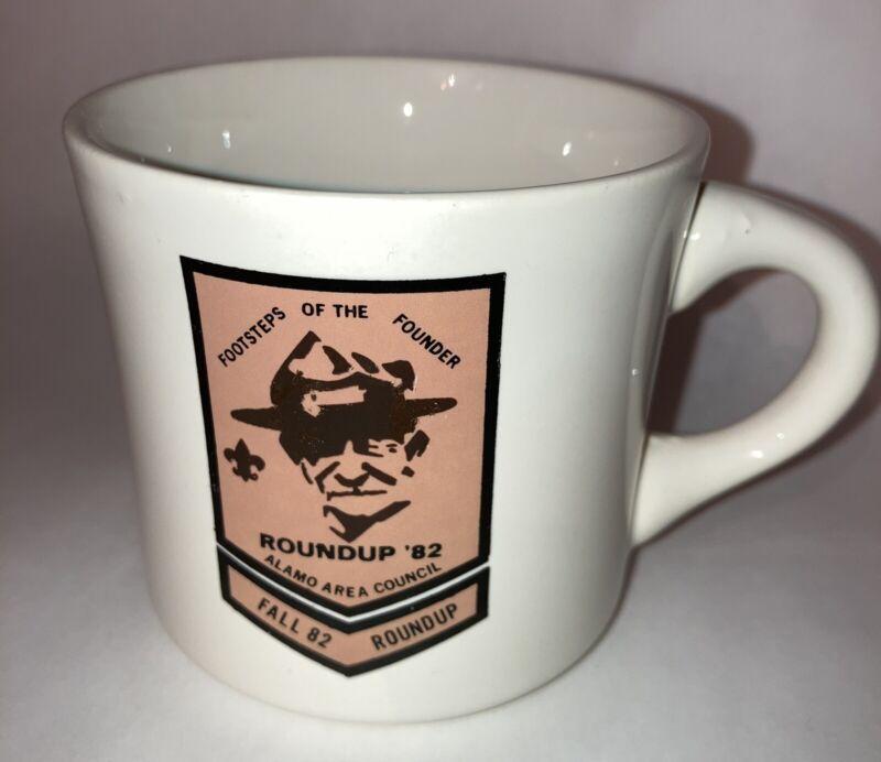 Footsteps Of The Founder Roundup Fall 1982 Alamo Area Council Scout USA Mug 8 oz