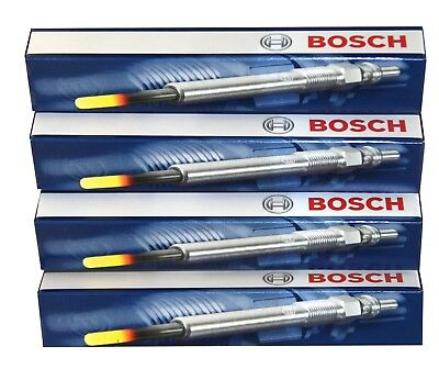 Ford Fiesta Focus Mondeo S Max Bosch Glow Plugs GLP024 GLP 024 0250202131 x4