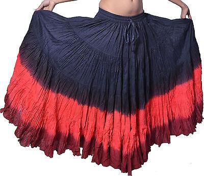 25 Yard 4 Tier Skirt Belly Dance Gypsy Skirt Custom dance](Gypsy Custome)