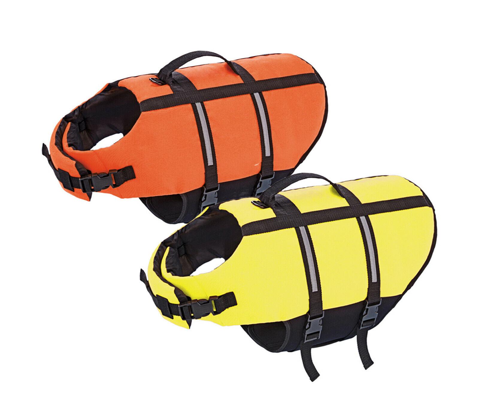 Schwimmweste Rettungsweste  für Hunde  5 Größen 2 Farben