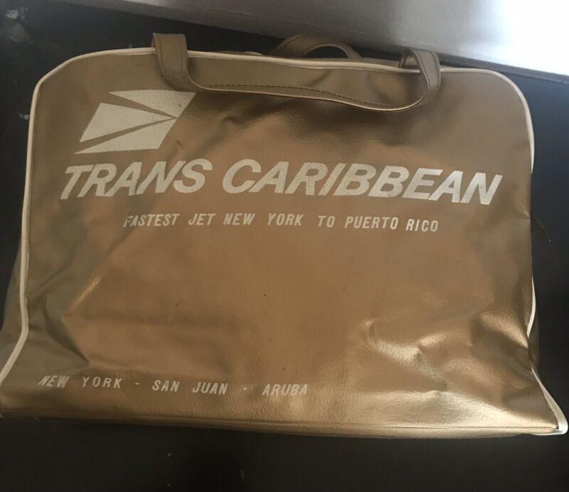 "Trans Caribbean Carry On Bag, 12"" X 9"" X 4"""