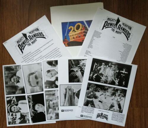 MIGHTY MORPHIN POWER RANGERS: THE MOVIE (1995) Original U.K. Press Kit / Pack