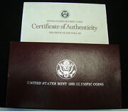 United States Mint 1988 Olympic Coins