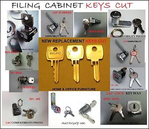 FILING-CABINET-KEYS-CUT-FOR-BISLEY-RONEO-SILVERLINE-TRIUMPH-LOCK-LOCKER