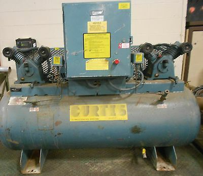 Curtis-toledo Air Compressor Model Es-10 20in X 66in 80 Gallon 17821lr