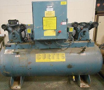 Curtis-toledo Air Compressor Model Es-10 20in X 66in 80 Gallon 17821lr