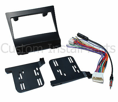Car Radio Stereo Double Din Dash Install Trim Mounting Kit Fits 04-08 Acura TSX