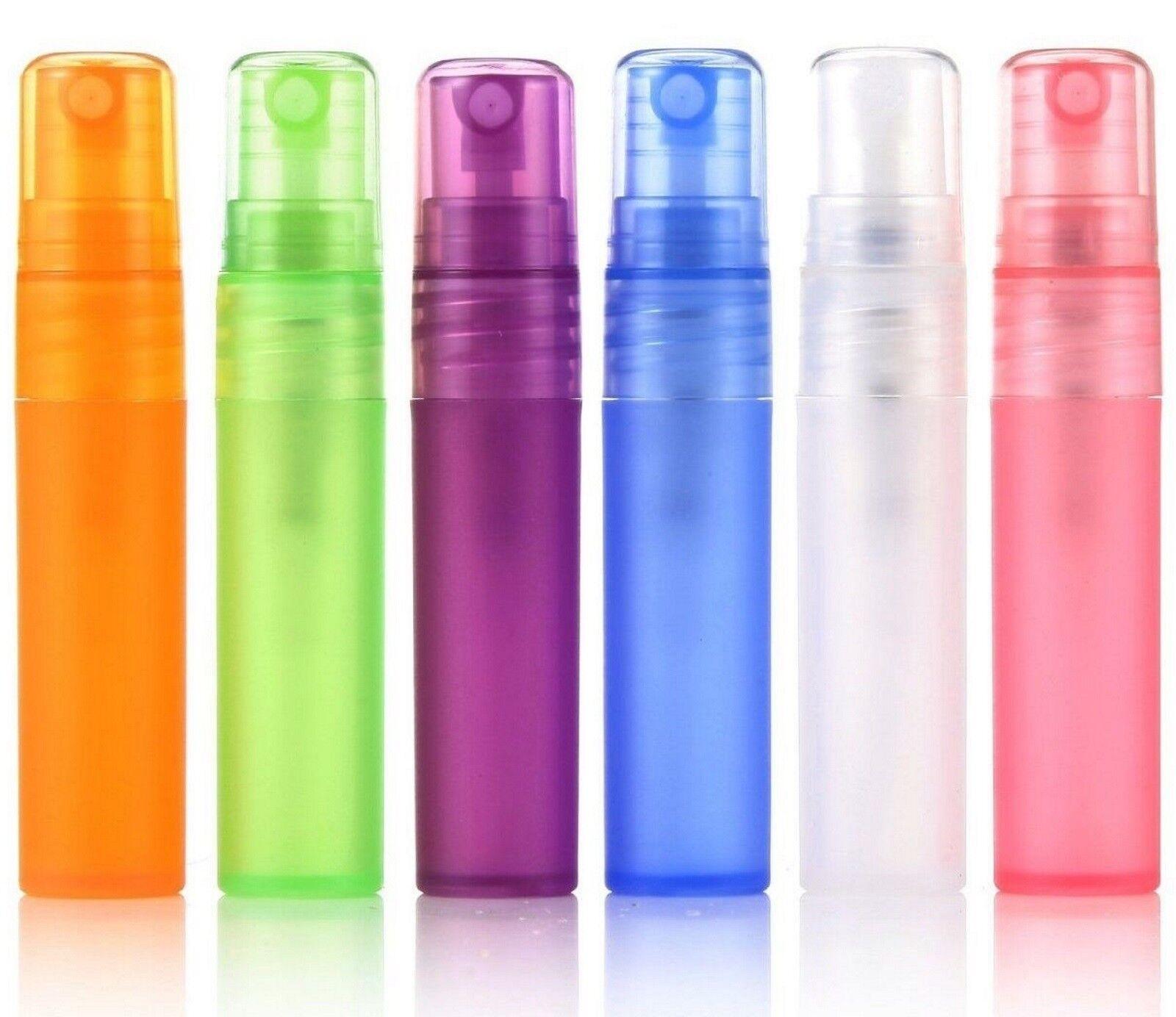 10 Parfüm Zerstäuber 8ml Taschenzerstäuber Mini Parfum Flasche Flakon Zerstäuber