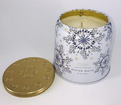 NEW Illume Winter White Single Wick Soy Candle 9.2 oz