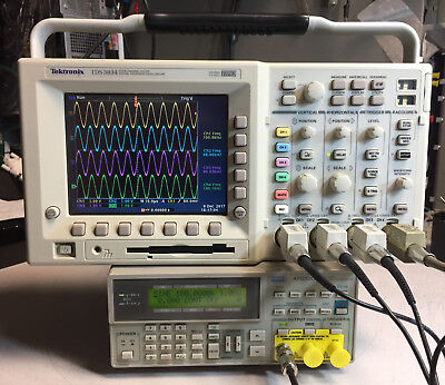 Tektronix Tds3054 4 Ch Dpo Oscilloscope 500mhz 5gsas New Lcd Options