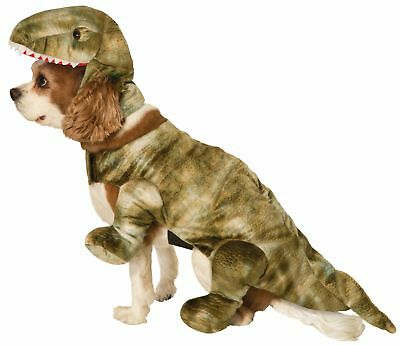 Cute Return of The Dinosaurs Pet Costume Dog Cat Halloween Dino  Small Medium - Costumes Of Dogs