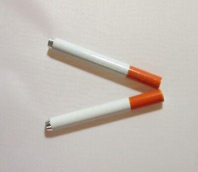 """USA Seller (2) 3""""Cigarette Pipe One Hitter Tobacco Smoking dugout Metal Bat"""