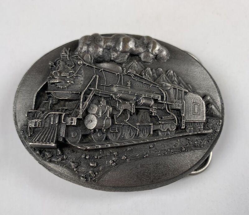 Siskiyou Railroad Buckle 1988