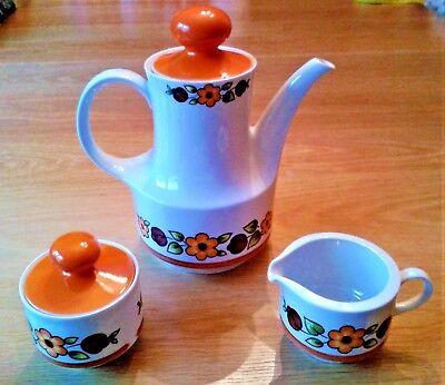 Cafetière - sucrier - pot à lait  Objets Vintage / Années 70