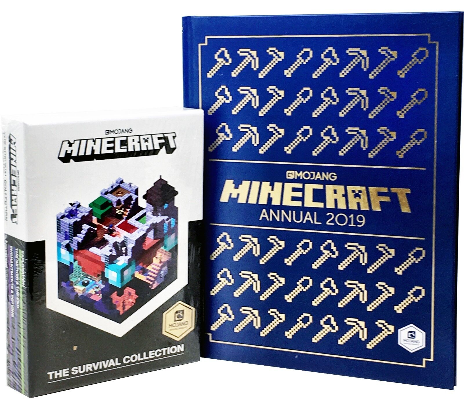 Details about Minecraft Survival Book, Minecraft Annual 2019- 5 Books  Collection Set by Mojang