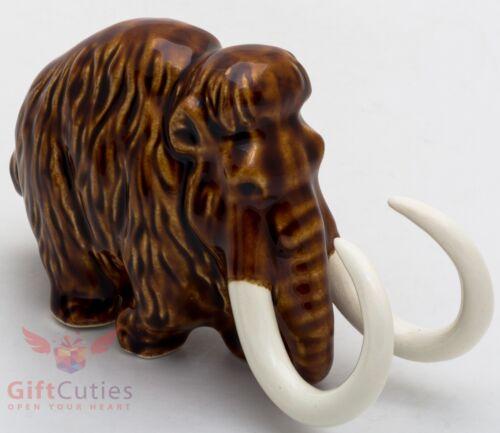 Porcelain Mammoth figurine handmade