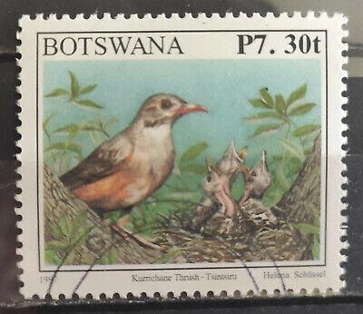 Botswana 2013, SG1185, 7p.30t - Kurrichane Thrush USED