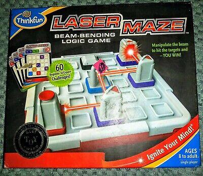 Laser Maze Game (Laser Maze Board Game by ThinkFun, COMPLETE, Gently)