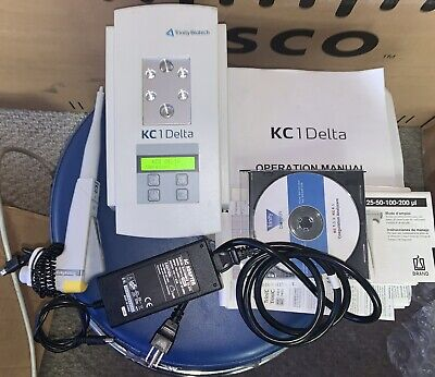 Trinity Biotech Kc1 Delta Coagulation Analyzer Wtransferpipette Manual Cd