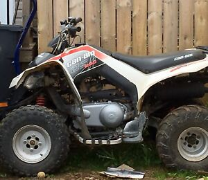 2009 Can Am DS 250 Quad