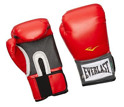Everlast Pro Style Training Gloves Red 16 oz.