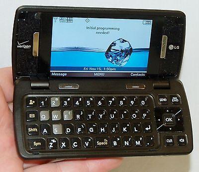 LG Verizon enV Touch Cell Phone Qwerty Keys Flip Bluetooth WiFi LG-VX11000 -C