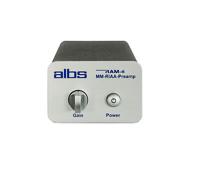 albs RAM-6 MC-RIAA-Preamp, MC, Entzerrervorverstärker, Phonovorverstärker, RIAA