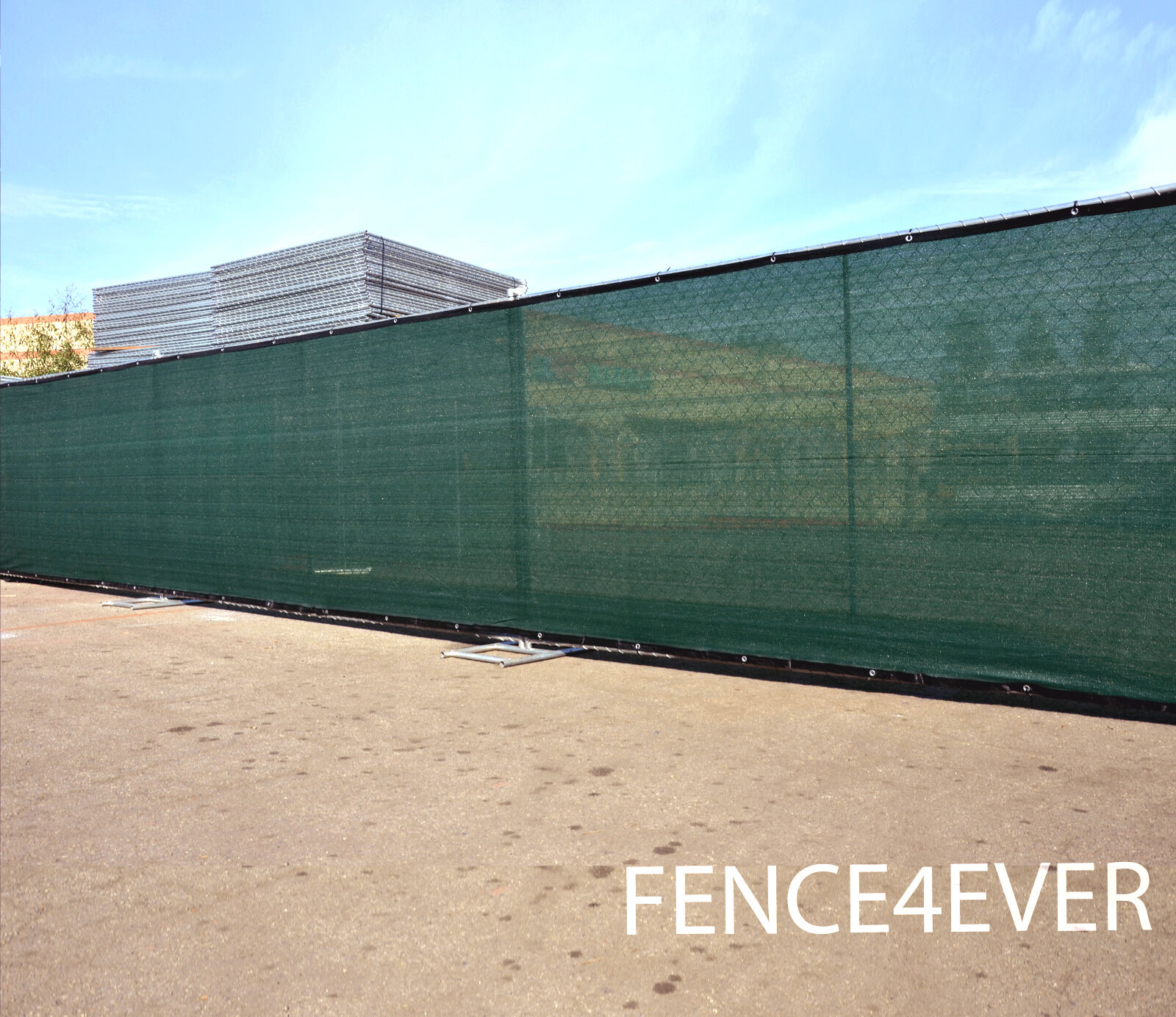 Green 4' 5' 6' 8' Tall Fence Windscreen Privacy Screen