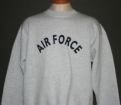 U S AIR FORCE CREWNECK SWEATSHIRT
