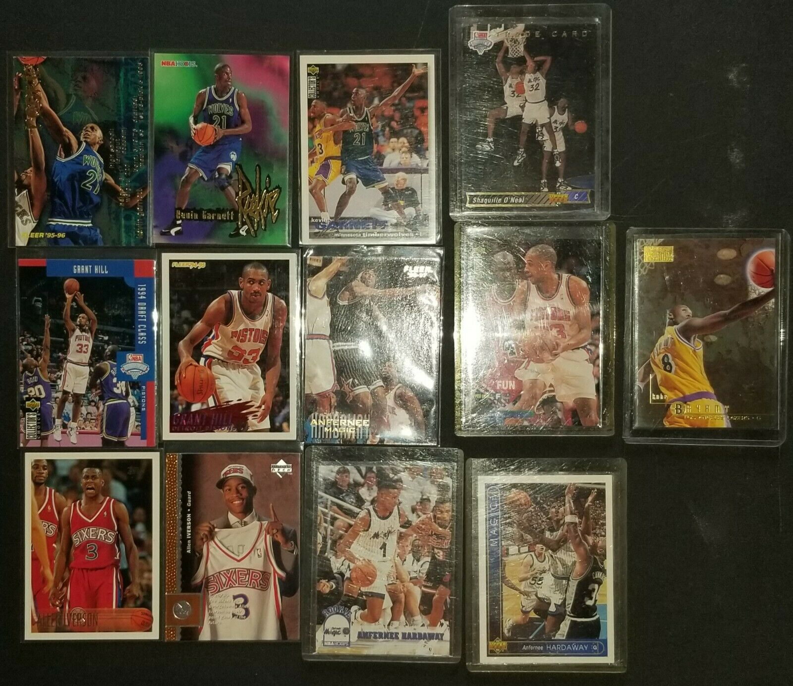 Rookie Basketball Cards Lot - $600.00