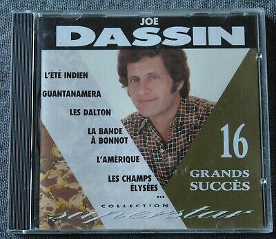 Joe Dassin, 16 grands succés - best of, CD France