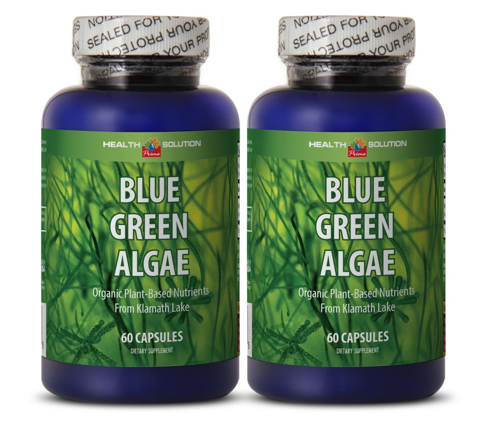 Detoxes Body Fully - Organic Blue Green Algae - Blue Green &