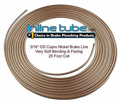 Copper Tubing Kit - Copper Nickel Brake Line Tubing Kit 3/16