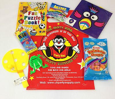 Party Taschen Kinder Spaß Gefüllt Überraschung Beutel für 7 Artikel ()