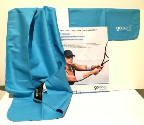 2X GoCool by Mission Instant Chill Cooling Towel XL 38x16 Large 34.5x14 TEAL