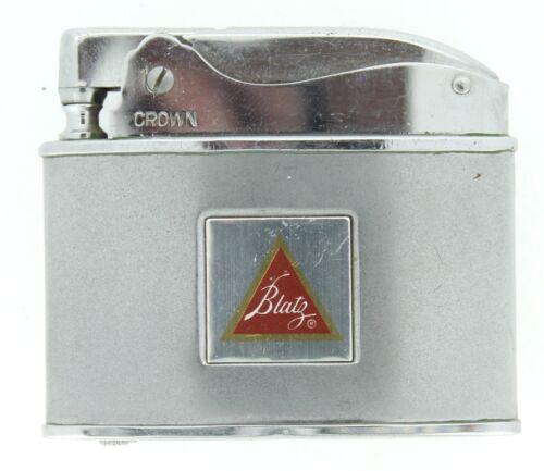 VINTAGE BLATZ BEER ADVERTISING CROWN CIGARETTE CIGAR LIGHTER NO RESERVE