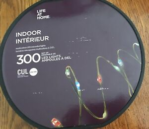 Indoor microdot led lights
