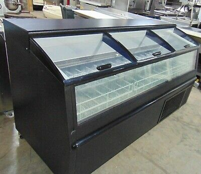 Glass Top Display Ice Cream Freezer With Led- Minus Forty Model 06-av-x1-os