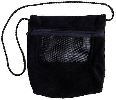 Bonding Pouch (Black) for Sugar Gliders and small (Sugar Gliders Pet)