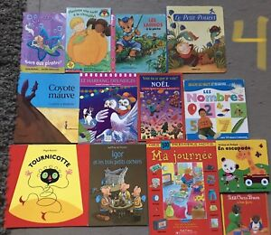 French kids story books