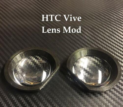 HTC Vive Lens Mod | Lenses + Bracket | BLACK | 3D printed - SHIPS FAST | gear vr