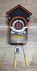Detroit Tigers CUCKOO CLOCK THE BRADFORD EXCHANGE LIMITED EDITION 142/10000