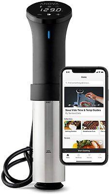 Anova Culinary AN500-US00 Sous Vide Precision Cooker (WiFi), 1000 Watts, New