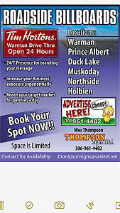 Advertise your business on major highways