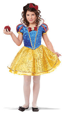 Snow White Deluxe Princess  Disney Character Child Costume - Costume Disney Character