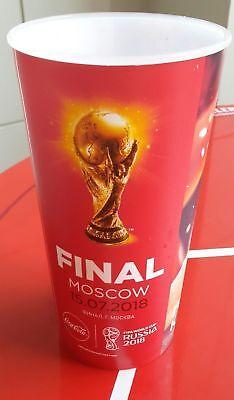 Gobelet du match Coca Cola Cup 2018 FIFA World FINAL FRANCE - CROATIA