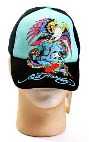 Ed Hardy Kids Black & Blue Embroidered Eagle Graphics Youth Boy