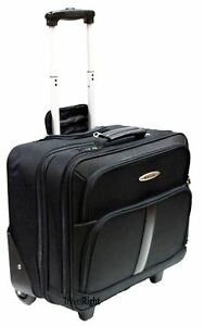 New Business Laptop Trolley Bag Wheeled Cabin Hand Luggage Briefcase Office Case