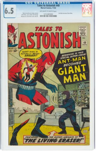 Tales To Astonish 49 CGC 6.5 Marvel Comics Ant-Man 1st Giant-Man Free Shipping