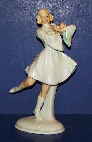 """STUNNING VINTAGE SCHAUBACH KUNST GERMANY PORCELAIN DANCER 8 1/2"""" FIGURINE"""